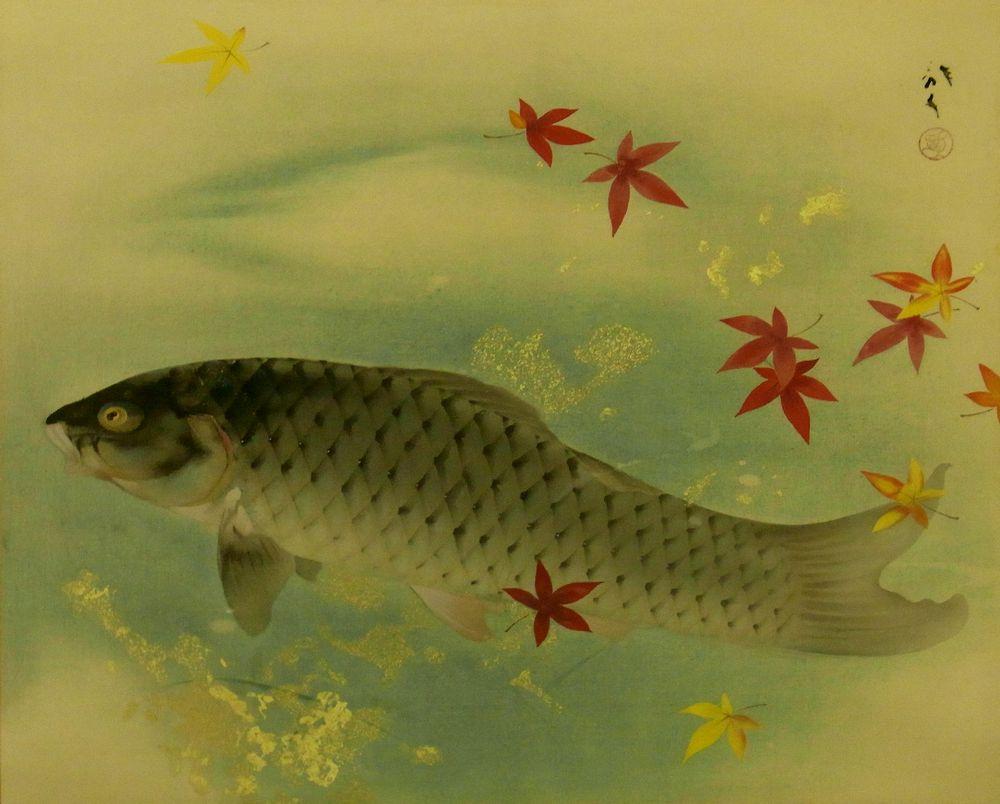 壁纸 动物 国画 鱼 鱼类 1000_804